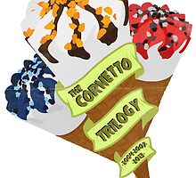 The Cornetto Trilogy by Ghipo