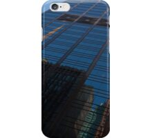 Reflecting on Skyscrapers - Downtown Atmosphere  iPhone Case/Skin