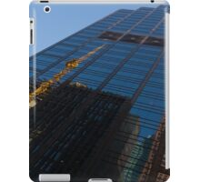 Reflecting on Skyscrapers - Downtown Atmosphere  iPad Case/Skin
