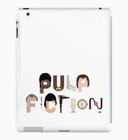 Pulp Fiction Characters iPad Case/Skin