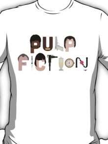 Pulp Fiction Characters T-Shirt