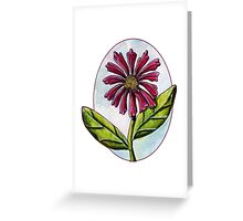Zinnia [Patch] Greeting Card