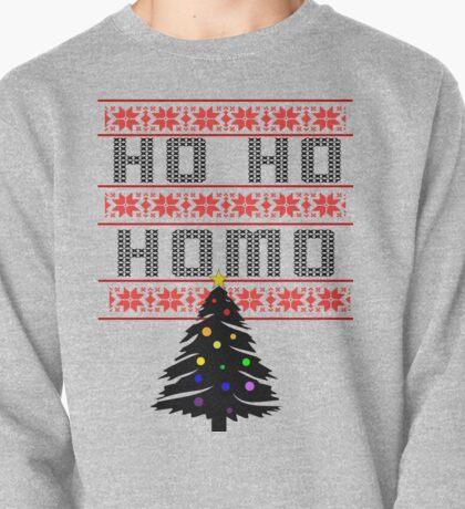 Ho Ho Homo with tree Pullover