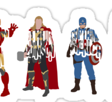The Avengers Sticker