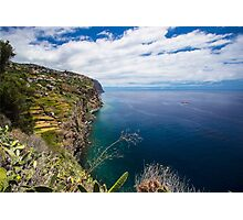 Incredible Ocean Coast - Nature Photography  Photographic Print