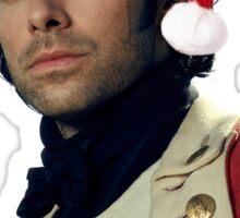 Marry Xmas Ross Poldark  Sticker