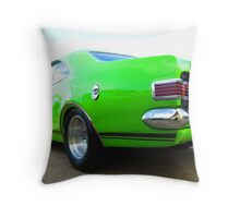 Classic Green Holden GTS - Mk II Throw Pillow