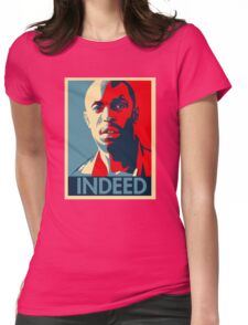 Omar The Wire Indeed Womens Fitted T-Shirt