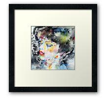 LADY FARFALLA Framed Print