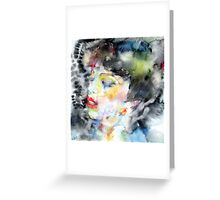 LADY FARFALLA Greeting Card