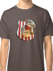 Ratty The Pirate.  Taxidermy Pirate Rat Classic T-Shirt