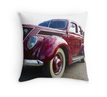 Classical Car - Mk II Throw Pillow