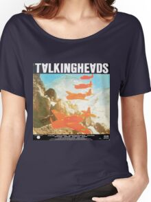 Talking Heads Vinyl Artwork Women's Relaxed Fit T-Shirt