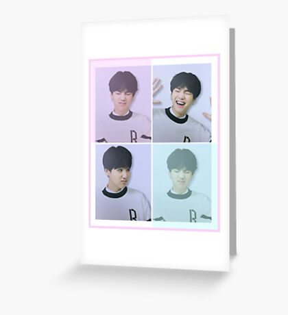 BTS - Happy Suga Greeting Card