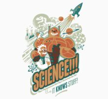 Science!!! It Knows Stuff! Kids Clothes