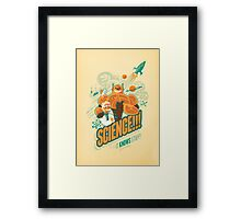 Science!!! It Knows Stuff! Framed Print