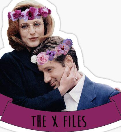 Dana & Fox   The X-Files Sticker
