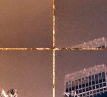 Los Angeles Highrises Flipped Sticker