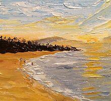 Fleming Beach, Maui by KathleenEKelly