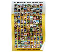 99 Bottles of Beer on the Wall Poster Poster