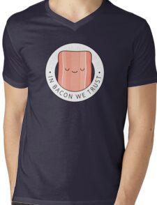 In bacon we trust Mens V-Neck T-Shirt
