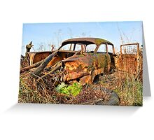 Rusty And Broken Greeting Card
