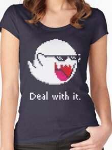 How to Deal with Boos Women's Fitted Scoop T-Shirt