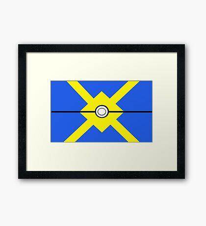 Pokemon - Quickball Framed Print