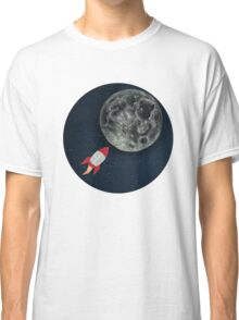 Rocket to the Moon Classic T-Shirt