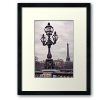 Paris, Je T'aime Framed Print