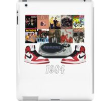 1984 Hip Hop & Jordans iPad Case/Skin