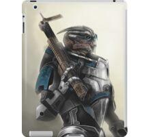 A busy Turian iPad Case/Skin