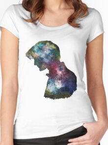Dr. Who Galaxy Women's Fitted Scoop T-Shirt