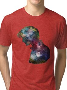Dr. Who Galaxy Tri-blend T-Shirt