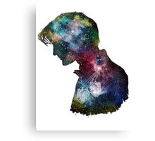 Dr. Who Galaxy Canvas Print