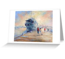 Williamstown pier (Victoria Australia) Greeting Card