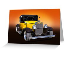 Classic Hotrod Greeting Card