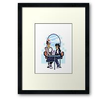 Voltron - Sheith Ice Cream Date Framed Print