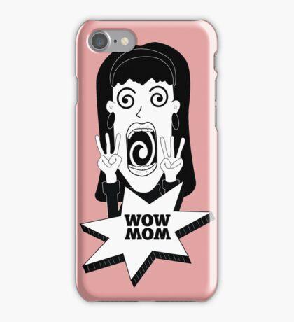WOW MOM iPhone Case/Skin