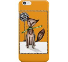 Cunning old fox iPhone Case/Skin