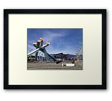 Vancouver Olympic Flame Framed Print