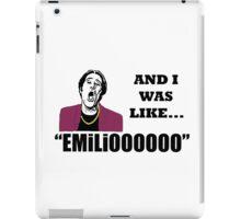 A Night At The Roxbury I Was Like Emilio Movie SNL  iPad Case/Skin