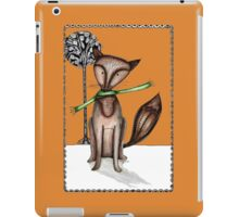 Cunning old fox iPad Case/Skin