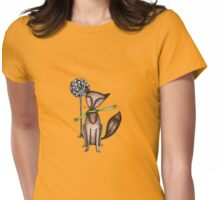 Cunning old fox Womens Fitted T-Shirt