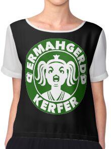 Ermahgerd... Coffee! Chiffon Top