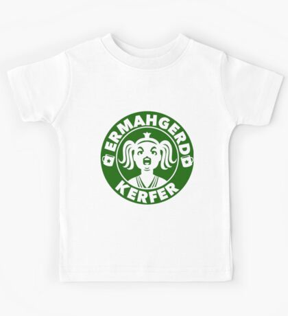 Ermahgerd... Coffee! Kids Tee
