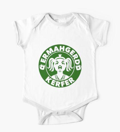 Ermahgerd... Coffee! One Piece - Short Sleeve