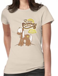 My Little Pawnee Womens Fitted T-Shirt
