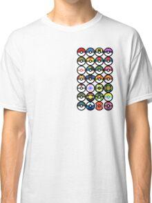 Pokémon - Pokeballs Classic T-Shirt