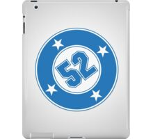 Number 52 with a Bullet iPad Case/Skin